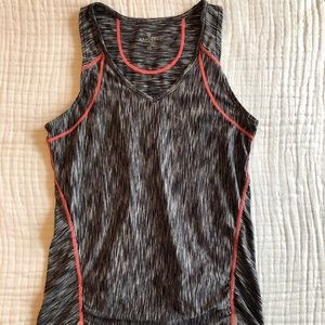 Athleta Tank Top with Zip Pouch